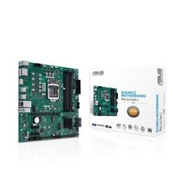 ASUS - ASUS PRO Q570M-C-CSM DDR4 M2 PCIe NVME HDMI DP PCIe 16X v4.0 1200p mATX Kurumsal Anakart