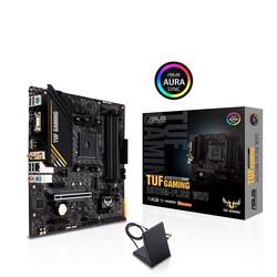 ASUS - ASUS TUF A520M-PLUS GAMING WIFI DDR4 M2 PCIe NVME HDMI DVI PCIe 16X v3.0 AM4 mATX