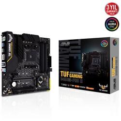 ASUS - ASUS TUF B450M-PRO II GAMING DDR4 SATA3 M2 PCIe NVME HDMI DP PCIe 16X v3.0 AM4 ATX