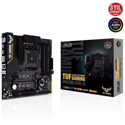 ASUS TUF B450M-PRO II GAMING DDR4 SATA3 M2 PCIe NVME HDMI DP PCIe 16X v3.0 AM4 ATX