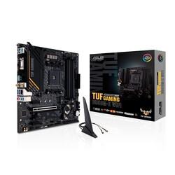 ASUS - ASUS TUF B550M-E GAMING WIFI DDR4 M2 PCIe NVME HDMI DP PCIe 16X v4.0 AM4 mATX