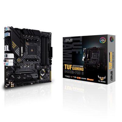 ASUS TUF GAMING B450M-PRO S AMD B450 AM4 DDR4 4400 HDMI DVI Çift M2 USB3.1 AURA RGB mATX