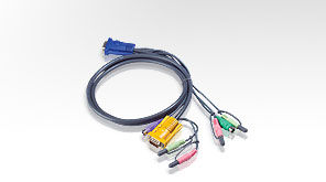 Aten ATEN-2L-5302P PS/2 KVM (Keyboard/Video Monitor/Mouse) Switch İçin Kablo