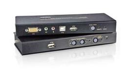 ATEN - Aten ATEN-CE800B VGA KVM (Keyboard/Video Monitor/Mouse) Mesafe Uzatma Cihazı