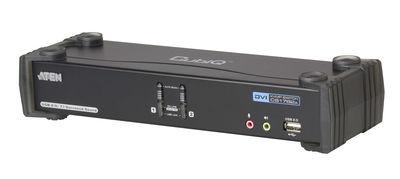 Aten ATEN-CS1782A 2 Port USB DVI Dual Link KVM Periferi Switch