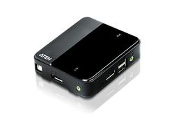 ATEN - Aten ATEN-CS782DP 2 port'lu USB DisplayPort KVM Switch