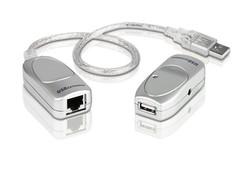 ATEN - Aten ATEN-UCE60 USB 1.1 Cat 5 Mesafe Uzatma Cihazı, 60 metre (USB Cat 5 Extender)