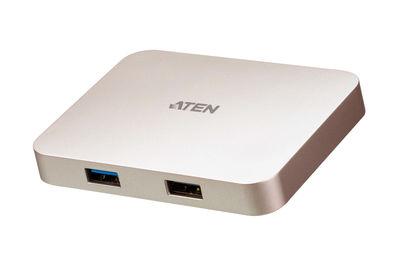 Aten ATEN-UH3235 USB-C 4K Ultra Gaming Mini Dock with Power Pass-through