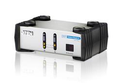 ATEN - Aten ATEN-VS261 2-Port DVI/Hoparlör Seçici 2-Port DVI/Audio Switch