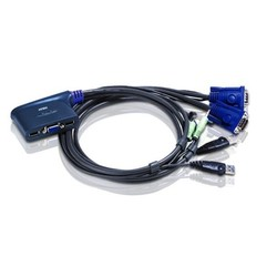ATEN - Aten CS62U 2 Port USB Vga KVM Switch