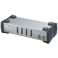 ATEN - Aten CS84AC-AT 4 Port PS-2 Kvm Switch