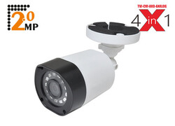 AVERDIGI - Averdigi Ad-42BE 2mp 3.6mm 18 Smd Led Ahd Plastik Kasa Bullet Kamera