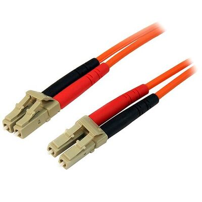 BIFO 3m MM LC-LC 50-125µ LSZH Duplex Fiber Optik Patch Kablo