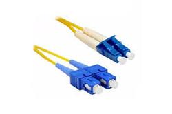 BIFO - BIFO 5m SM SC-LC 9-125µ LSZH Duplex Fiber Optik Patch Kablo