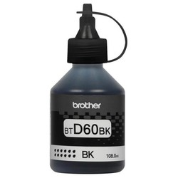 BROTHER - BROTHER BTD60BK Siyah Tanklı Sistem Mürekkebi