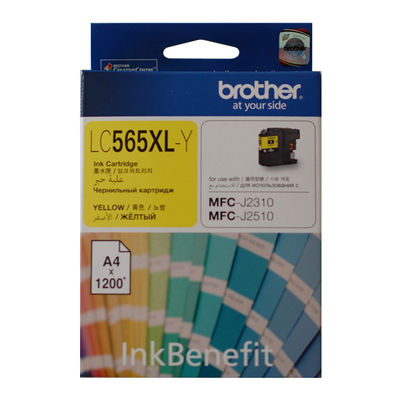 BROTHER LC565XLY SARI 1200 SAYFA KARTUS MFC-J3720