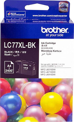 BROTHER LC77XLBK Siyah Kartuş 2400 Sayfa
