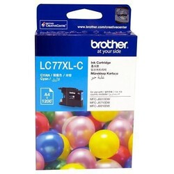BROTHER - BROTHER LC77XLC Mavi Kartuş 1200 Sayfa