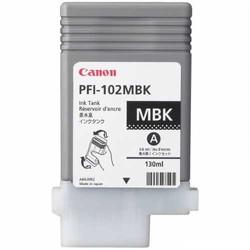 CANON - CANON 0894B001 PFI-102MBK MAT SIYAH KARTUS (130 ML)LP17/LP24 /IPF 500/IPF 510/IPF 600/IPF 605/IPF 610/IPF 650/IPF 655/IPF 700/IPF 710/IPF 720/IPF 750/IPF 755/IPF 760/IPF 765