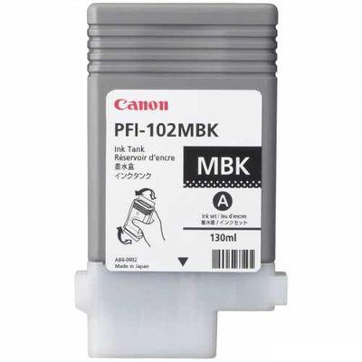 CANON 0894B001 PFI-102MBK MAT SIYAH KARTUS (130 ML)LP17/LP24 /IPF 500/IPF 510/IPF 600/IPF 605/IPF 610/IPF 650/IPF 655/IPF 700/IPF 710/IPF 720/IPF 750/IPF 755/IPF 760/IPF 765