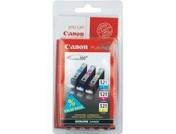 CANON - CANON 2934B010 CLI-521CMY MUREKKEP KARTUS SET