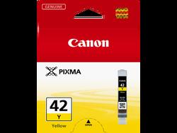 CANON - CANON 6387B001 CLI-42Y SARI MUREKKEP KARTUS