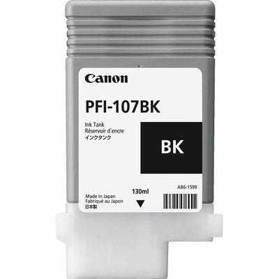 CANON 6705B001 PFI-107BK SIYAH KARTUS (130 ML)IPF 670/IPF 680/IPF 685/IPF770/IPF 780/IPF 785