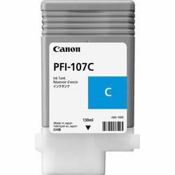 CANON - CANON 6706B001 PFI-107C CYAN KARTUS (130 ML)IPF 670/IPF 680/IPF 685/IPF770/IPF 780/IPF 785