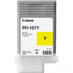CANON - CANON 6708B001 PFI-107Y SARI KARTUS (130 ML)IPF 670/IPF 680/IPF 685/IPF770/IPF 780/IPF 785