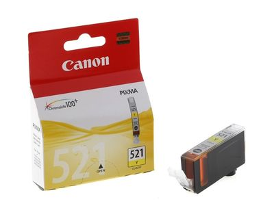 Canon Cli-521Y Mürekkep Kartuş