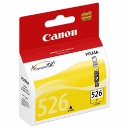 CANON - CANON CLI-526Y Sarı Kartuş 500 Sayfa