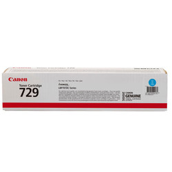 CANON - CANON CRG-729C Mavi 1000 Sayfa Lazer Toner
