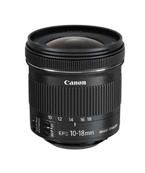 CANON - Canon Lens EF-S 10-18mm F4,5-5,6 IS STM ( LENS EF-S 10-18MM )