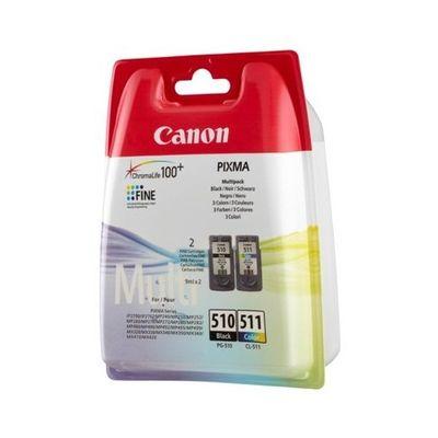 CANON PG510BK+CL511 2Lİ KARTUŞ(CANON MP240/MP260)