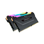 CORSAIR - CMW16GX4M2A2666C16 DDR4, 2666MHz 16GB 2 x 288 DIMM, Unbuffered, 16-18-18-35, Vengeance RGB PRO black Heat spreader,RGB LED, 1.35V, XMP 2.0