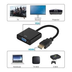 CODEGEN 0.15metre CDG-CNV31 HDMI Vga Dişi Görüntü Adaptörü Siyah - Thumbnail