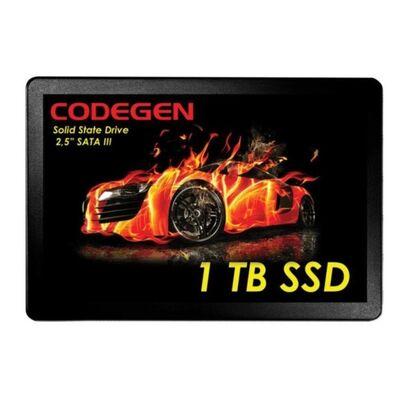 CODEGEN CDG-1TB-SSD25 1TB 500- 450MB-s SSD SATA-3 Disk