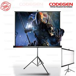 CODEGEN - CODEGEN COD-TX-24 240x200 Tripod Ayaklı Projeksiyon Perdesi