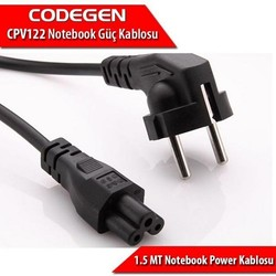 CODEGEN - CODEGEN CPV122 3x0.75mm 1.5metre Notebook Power Kablosu