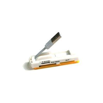 CODEGEN CR19 USB 2.0 Turuncu Beyaz Harici Kart Okuyucu