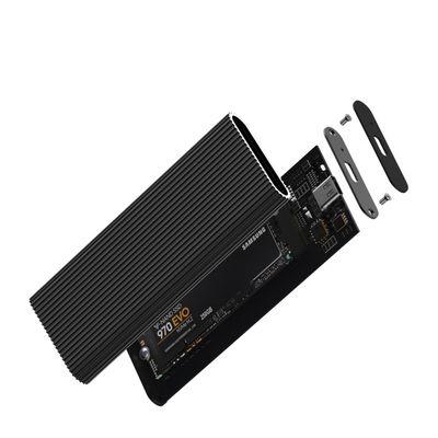 CODEGEN M2 Type-C CDG-SSD-10BC PCIe NVMe M2 Alüminyum Harddisk Kutusu Siyah