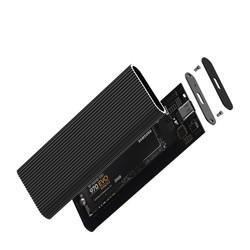 CODEGEN M2 Type-C CDG-SSD-15BC M2 Sata Alüminyum Harddisk Kutusu Siyah - Thumbnail