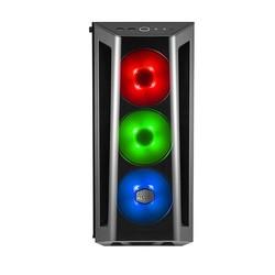 COOLERMASTER mid Tower 650W 80+ Gaming MasterBox MB520 RC-MCB-B520-KGNN-RGB ATX PC Kasası Temperli Cam Siyah 3x 12cm RGB - Thumbnail