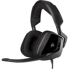 CORSAIR - CORSAIR CA-9011205-EU VOID ELITE SURROUND 7.1 KABLOLU OYUNCU KULAKLIGI KARBON (PC, MOBİL, XBOX, PS4 UYUMLU)
