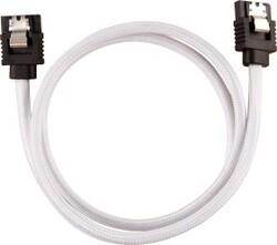 CORSAIR - CORSAIR CC-8900253 Premium Sleeved SATA 6Gbps 60cm Cable — White
