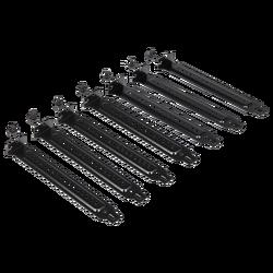 CORSAIR - CORSAIR CC-8900323 Carbide SPEC-DELTA RGB Expansion Slot Covers, Black