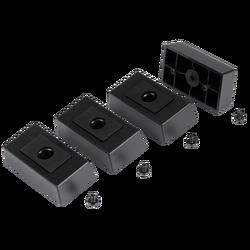 CORSAIR - CORSAIR CC-8900324 Carbide SPEC-DELTA RGB Case Feet, Black