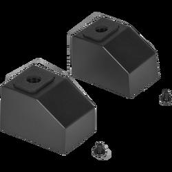 CORSAIR - CORSAIR CC-8900459 iCUE 4000X-4000D-4000D Airflow Rear Case Feet, Black