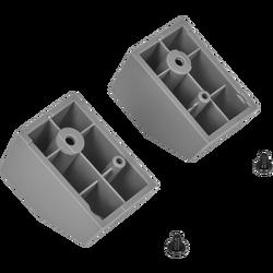 CORSAIR - CORSAIR CC-8900460 iCUE 4000X-4000D-4000D Airflow Rear Case Feet, Gray