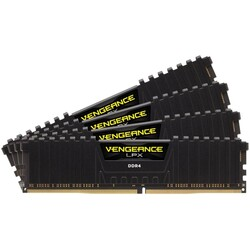 CORSAIR - CORSAIR CMK32GX4M4B3200C16 32GB (4X8GB) DDR4 3200MHz CL16 VENGEANCE BLACK RGB PRO SOĞUTUCULU DIMM BELLEK